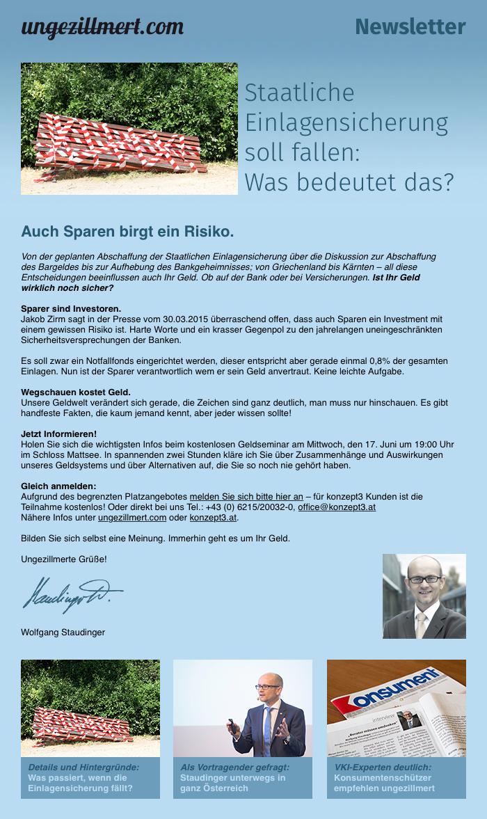 ungezillmert_Newsletter_Sparen_birgt_ein_Risiko